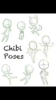 FREE Chibi poses by ConcreteDreams on DeviantArt Drawing Skills, Drawing Techniques, Drawing Tips, Drawing Reference, Drawing Tutorials, Art Tutorials, Drawing Sketches, My Drawings, Drawing Body Poses