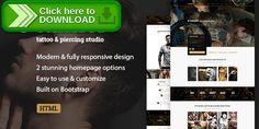 [ThemeForest]Free nulled download Tattoo, Piercing Modern Studio/Artist HTML Template - Tunnel from http://zippyfile.download/f.php?id=32442 Tags: artist, artistic, blog, body art, business, hipster, ink, inked, makeup, piercing, polish, studio, tattoo, tattoo studio