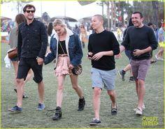 Celeb Diary: Diane Kruger & Joshua Jackson @ 2013 Coachella Music Festival