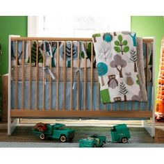 LOVE this bedding, but it is way to pricey! Dwellstudio Owls Sky Crib Set