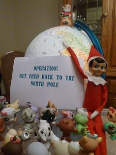 Operation: Get Fred back to the North Pole!