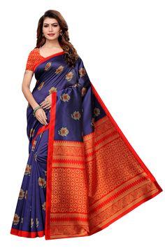 sweetiepie fashion multicolor Mysore Silk Printed saree (SF-DF-46-Multicolor, Multocolor)