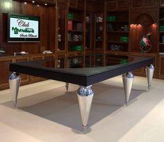Stylish Billiard Dining Table Furniture