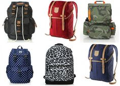Flotte skoletasker