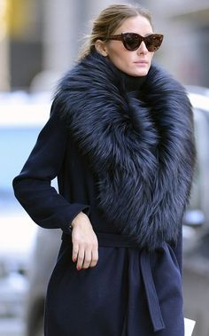 Fearlessly Chic Olivia Palermo Details Info Beauty & Fashion Fur Sale    84      12      1