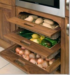 Vegetables drawers