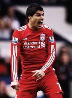 Whoa. That's Luis Suarez.