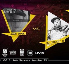 This Wednesday at Vulcan Gas Company we have Jank Mode vs. DJ Steady B starting at 10:30. Doors at 9pm 21 No Cover  Come Dance!  #dance #music #club #trap #house #edm #dubstep #austin #texas #SIHiDJ #electronic by siliconhillsdj