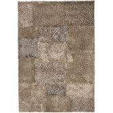Wayfair - Part #: ARE13907-576/ARE13907-79106 SKU #: CUG9092 Chandra Areva Shag Beige Rug