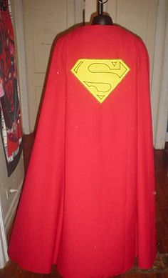 Superman DIY tutorial, cape, top and boots