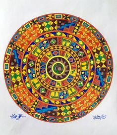 Colored Mandalas by Harmon Nelson 2015