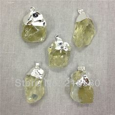 stone setting rough crystal - Google Search
