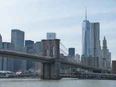Brooklyn Bridge and Skyline Manhatten
