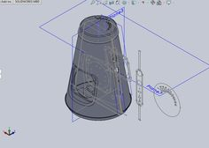 Pico bluetooth speaker CAD design by Catherine Stolarski Design