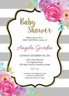 Floral borders invitations free printable invitation templates navy bridal shower invitations boho white floral bridal shower invitations blue wedding couples shower custom printable b72 stopboris Image collections