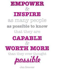 Empower & Inspire!!!!    #inspiration #girlpower #scensiblesbags