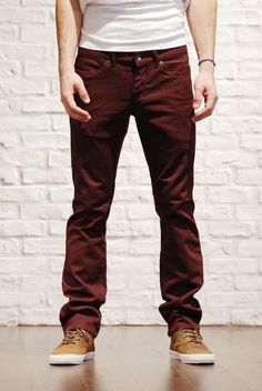 .Can I wear this color of pants?