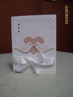 wedding card Mary Beth Dagostino