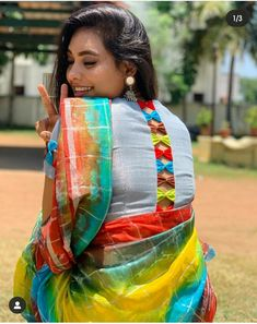 Blouse Designs High Neck, Cotton Saree Blouse Designs, Patch Work Blouse Designs, Simple Blouse Designs, Stylish Blouse Design, Bridal Blouse Designs, Designer Blouse Patterns, Designs For Dresses, Party Wear