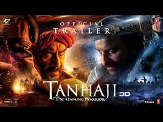 Tanhaji The Unsung Warrior - Official Trailer Ajay Devgn, Saif Ali K, Kajol Om Raut It Movie Cast, It Cast, Warrior Movie, Hd Movies Download, Ringtone Download, Saif Ali Khan, Movies To Watch Online, Watch Movies, Film Watch