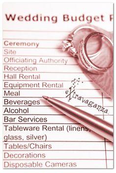How to Plan a Wedding On a Budget http://yesidomariage.com - Conseils sur le blog de mariage