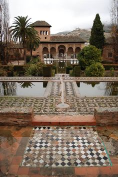 Jardins de l'Alhambra, Granada, Spain