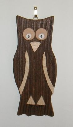 owl wall decoration by JuSucraftywood on Etsy