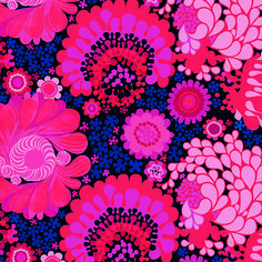 Fabric: Folklore, design Göta Trägårdh, from Bemz