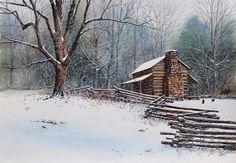 Robert A. Tino Gallery -  Shakin' Off the Cold...love it!