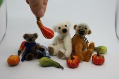 #hopebears #teddybears #miniatures #newbears #hope-bears.com