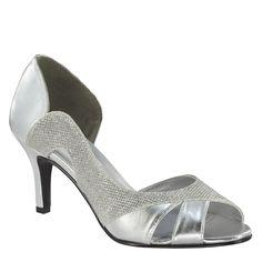 Glitter Peep Toe Wedding Shoes – Amelia – Touch Ups