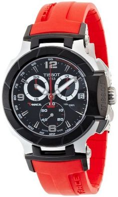 Tissot Men's T-Race Strap Chronograph Watch Black T0484172705701 by Tissot, http://www.amazon.ca/dp/B003XRPIVS/ref=cm_sw_r_pi_dp_6WU2rb0RZ27AK