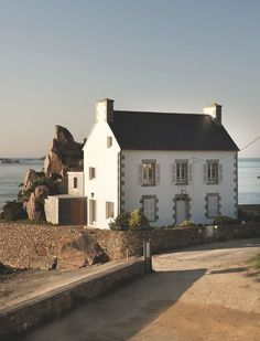 Un havre de paix à Paimpol en Bretagne, face à la mer - Nouvelle déco bretonne à Paimpol - CôtéMaison.fr