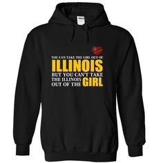 Illinois Girl Anywhere T Shirts, Hoodies. Check Price ==► https://www.sunfrog.com/LifeStyle/Illinois-Girl--Anywhere-Black-Hoodie.html?41382