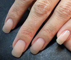 natural looking gel nails
