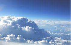 Обои картинки фото небо, облака, горизонт
