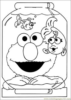 "The excellent images below, is segment of ""Sesame Street Coloring Pages Printable For Kids"" article which is sorted within Film and TV Show, and published by deyanquikley. Description from filmhp.us. I searched for this on bing.com/images"