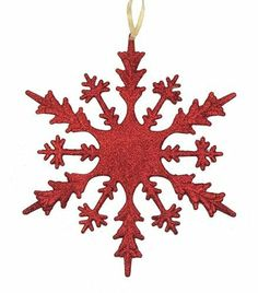 2 Commercial Snowflake Ornaments by Gordon Companies, Inc. $31.50. This product may be prohibited inbound shipment to your destination.. Shipping Weight: 2.00 lbs. Picture may wrongfully represent. Please read title and description thoroughly.. Brand Name: Gordon Companies, Inc Mfg#: 30873263. Please refer to SKU# ATR25798379 when you inquire.. 2 Commercial Snowflake Ornaments/Color:red hot/ drenched in sparkling glitter/Commercial sized /Double-sided ornament...