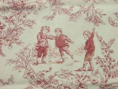 unique toile de jouy fabric - Google Search