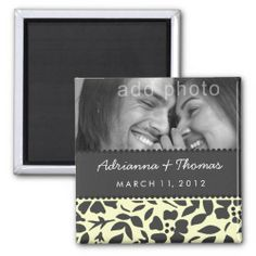 Save the Date Magnets picture   Send this save the date magnet to your wedding guests!