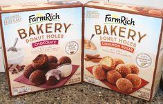 Farm Rich Bakery Donut Holes: Chocolate & Cinnamon Sugar Review