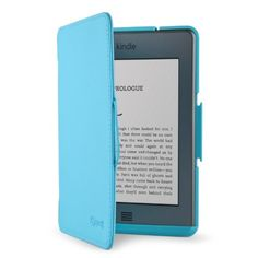 Speck Products SPK-A0999 Vegan Leather FitFolio Case for for 6-Inch Screen E-Readers by Speck. $32.60. FitFolio is a Kindle Touch (and similar sized e-reader or tablet) case that combines the fit of a precision-molded hard shell case, with the cover-to-cover protection in a book-style folio. The form-fit hard-shell cradle keeps your Kindle Touch securely in place, so it doesn't slip or slide, even when the cover is folded back and held in one hand. A vegan leatherett...