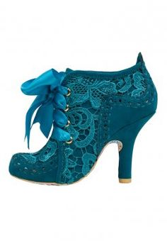 Irregular Choice Abigails Third Party Botines Blue botas y botines Third Party Irregular Choice Botines Blue Abigails Noe. Pretty Shoes, Beautiful Shoes, Cute Shoes, Me Too Shoes, High Heel Boots, Shoe Boots, High Heels, Ankle Boots, Funky Shoes