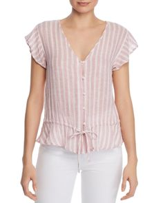 New Rails - Bretton Peplum Top. Womens fashion Tops from top store Dresses For Apple Shape, Womens Trendy Tops, Casual Skirt Outfits, Blouse And Skirt, Ladies Dress Design, Blouse Designs, Blouses For Women, Deb Shops, Skater Skirts