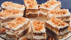 """Prăjitura """"Două căni"""" Something Sweet, Tiramisu, Biscuits, Caramel, Food And Drink, Sweets, Cooking, Healthy, Ethnic Recipes"""