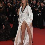 Petra Nemcova upskirt at the 71st annual Cannes Film Festival