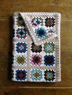 Granny Square Blanket Inspiration