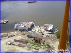Demolition of St. Louis Admiral (Photo: Denny Schwandt - with Debra Carter)