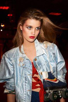 Roller Girl  Publication: Vogue Paris March 2017  Model: Luna Bijl  Photographer: Terry Richardson  Fashion Editor: Geraldine Saglio  Hair: James Pecis  Make Up: Kanako Takase  PART I