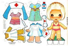 Recortables Muñecas | Manualidades a Raudales